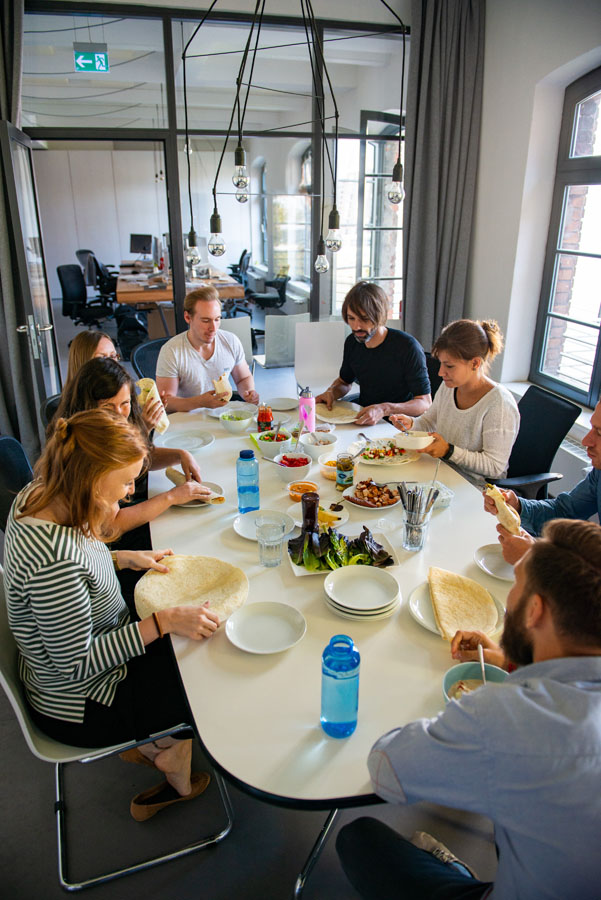 Mittagspause, Lunch, Mittagessen, VALID Digitalagentur
